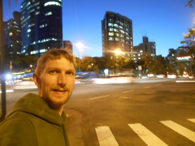Nightfall in Belo Horizonte, Brazil!