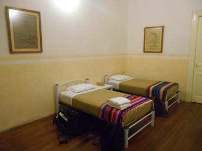 After 2-3 nights of broken sleep, this was the cosy charming room in Casa San Ildefonso in Mexico City!