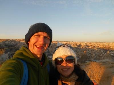 Sunrise in Capadoccia.