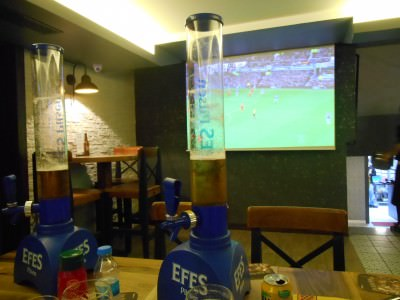 Beer time in Turkey - Efes!