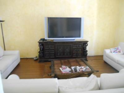 The TV Room at Casa San Ildefonso, Mexico City.