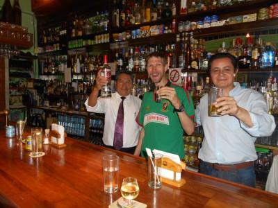 Cheers down the local pub - La Cantina Espana.
