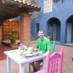 Staying in La Betulia, Oaxaca de Juarez, Mexico.