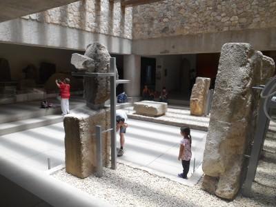 Monte Alban Museum.