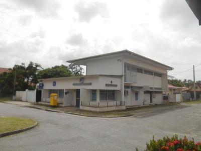 Downtown Iracoubo, French Guyana.