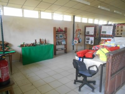 Tourist Information Centre in Iracoubo - yes there is one!