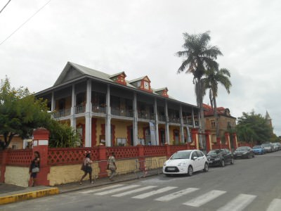 French colonial reminders in St. Laurent du Maroni.