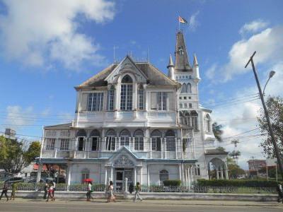 City Hall in Georgetown, Guyana.