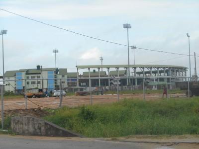 Providence Stadium in Georgetown, Guyana.