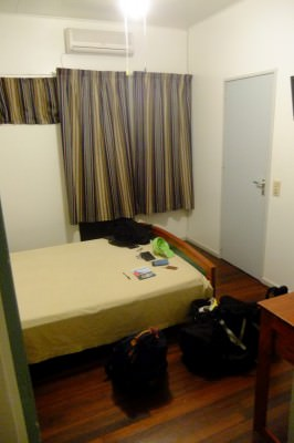 My room on my first stay in Guesthouse Amice.
