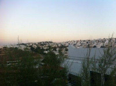 Sunset in Gumbet, Turkey.