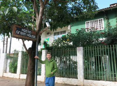 One of the best hostels from my travels - Hostel Green House Foz do Iguacu