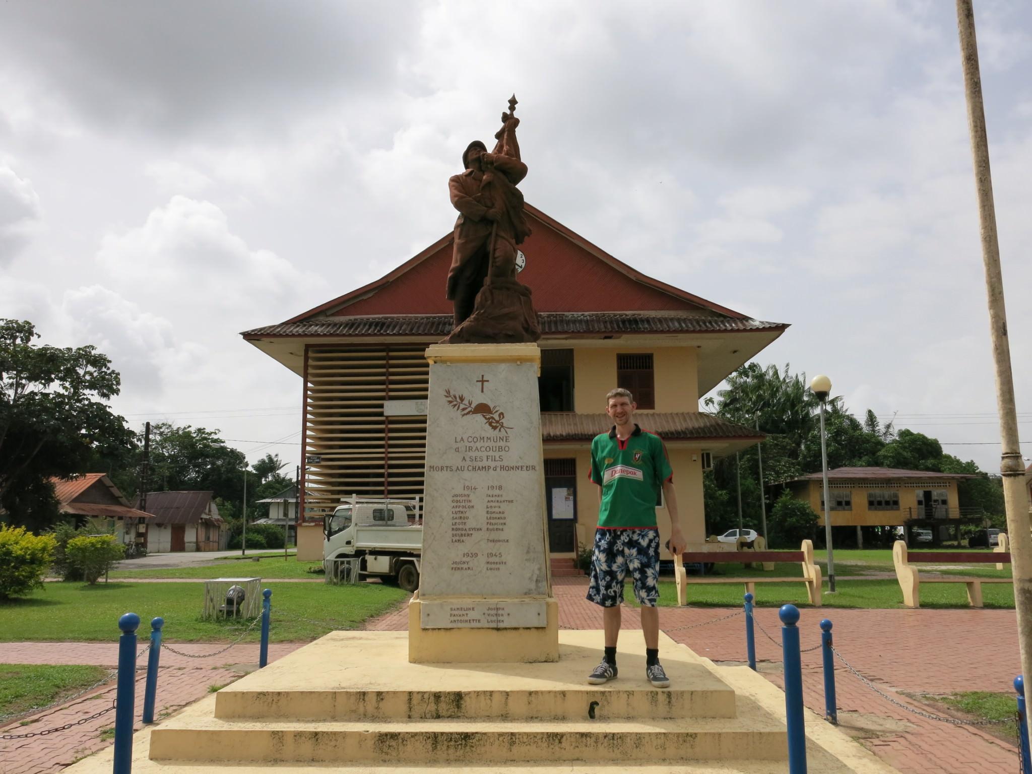 iracoubo war memorial