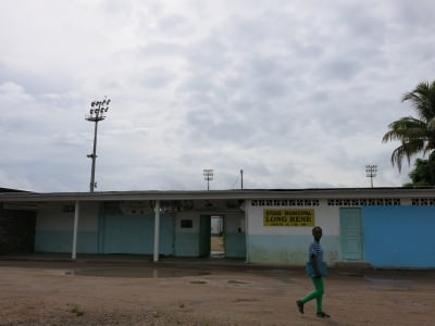 Football Stadium in St. Laurent du Maroni.