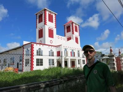 Backpacking in Georgetown Guyana