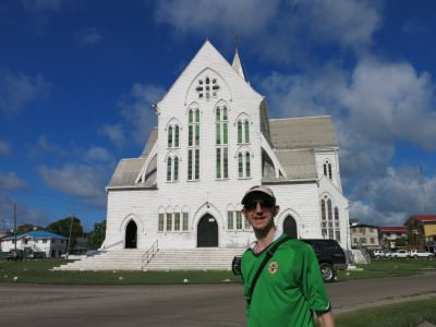 St. George's Cathedral in Georgetown, Guyana