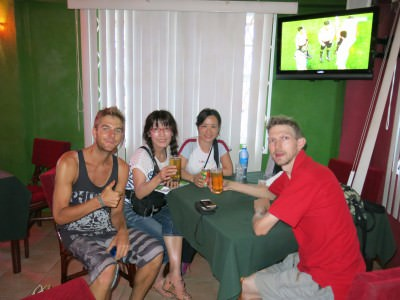 Daniel and Hiro join Panny and I for the Algeria v. Germany match!
