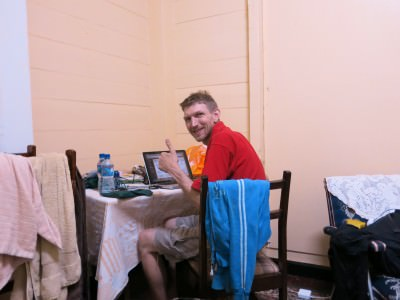 Yes! Fast wifi in Rima Guesthouse.