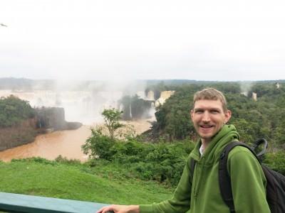 Chasing waterfalls again in Iguazu...