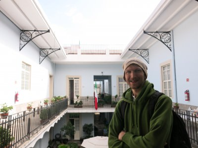 Backpacking in Mexico City!! My hostel - Casa San Ildefonso!