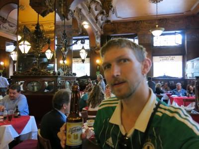 At La Opera bar in the Historic Quarter in Mexico City.
