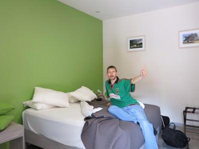 Our pristine room in La Betulia.