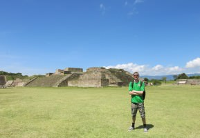 Touring Monte Alban: A UNESCO World Heritage Site in Mexico.