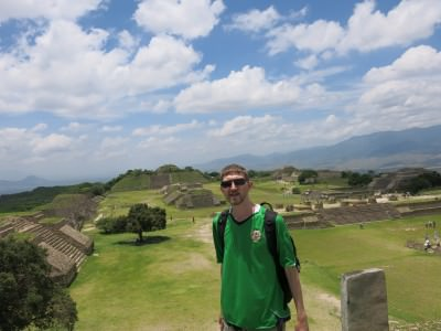 Loving the lost city of Monte Alban.
