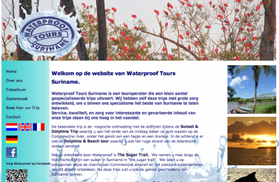 Waterproof Tours, Suriname.