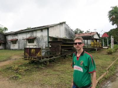 The Sugar Cane Trail in Suriname.