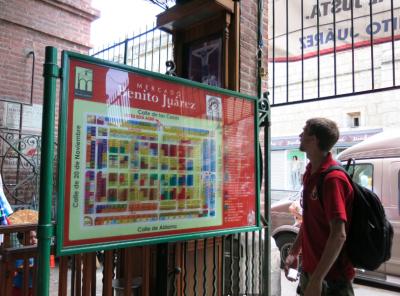 Inside Mercado Benito Juarez, Oaxaca.
