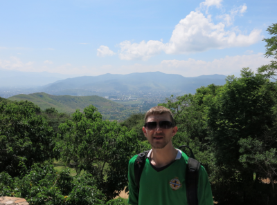View of Oaxaca from Monte Alban.