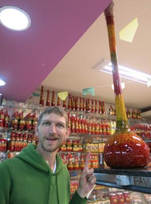 Spices in the Mercado Central in Belo Horizonte, Brazil.