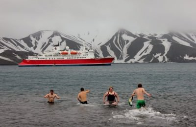 Bring your swimming trunks for a swim, and the onboard sauna.