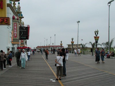 Backpacking in the USA - Atlantic City