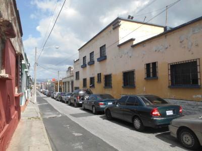 Posada Belen is on a quiet street