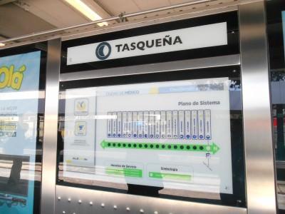 Tasquena on the Mexico City metro system.
