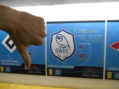 Thumbs down for Sheffield Wednesday.
