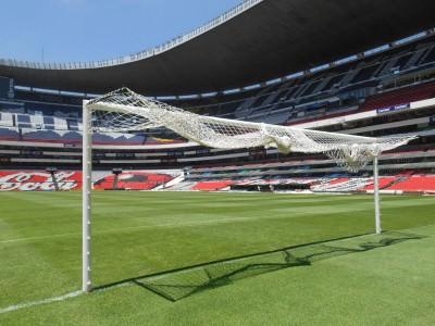 The end where Maradona scored those 2 famous goals!