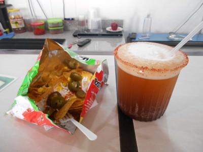 Thirsty Thursdays: Michelada and Nachos in San Cristobal de las Casas.