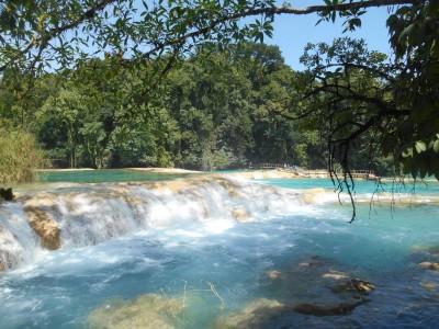 Agua Azul waterfalls, Mexico.