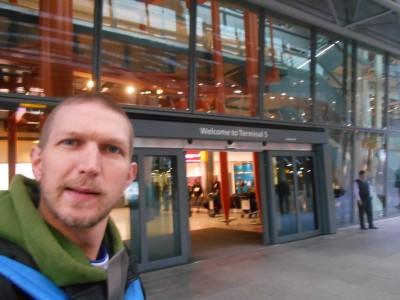 Leaving Heathrow on BA.