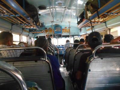The chicken bus to Huehuetenango.