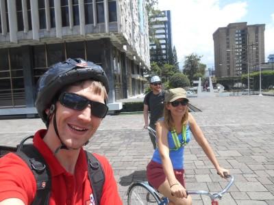 Cycling through Centro Civico