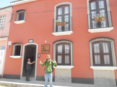 The best hostel in Xela! Hostal 7 Orejas.
