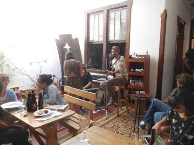 Live music in Poporopo Bar