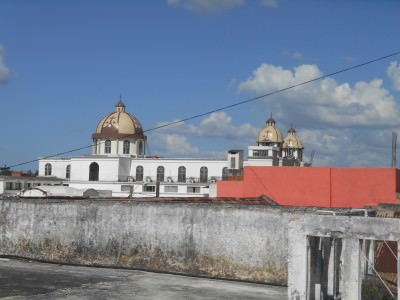 View of the city from roof of Poporopo