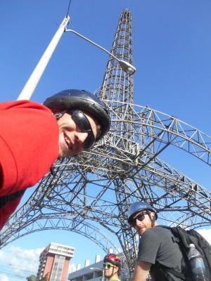 Fake Eiffel Tower selfie!