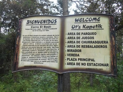 Cerro el Baul in Xela, Guatemala.