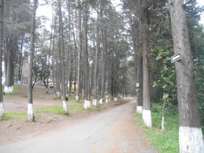 The park at Cerro el Baul in Xela, Guatemala.